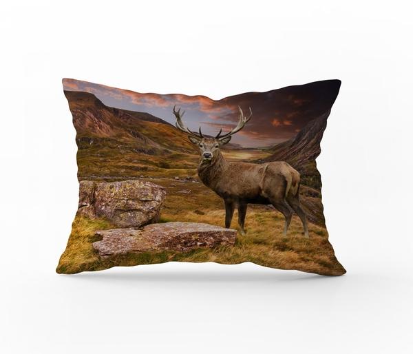 Bilde av Putetrekk Deer Mountain Flanell 50x70