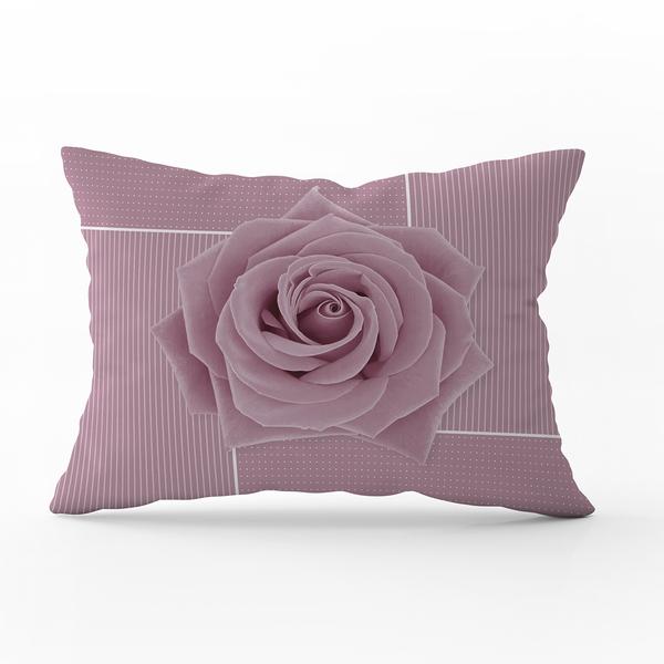 Bilde av Putetrekk Rose Lilac 70x100