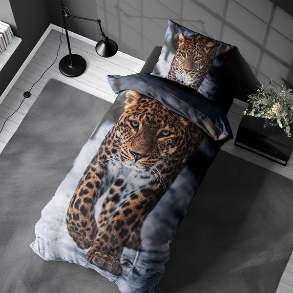Bilde av Sengesett Winter Leopard