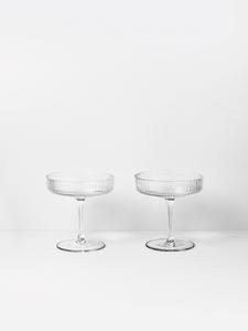 Bilde av Ferm Living Ripple Champagne