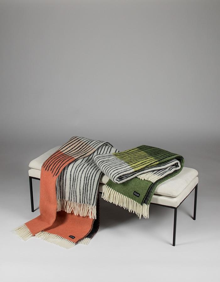 Design Lina Johansson Draw pledd, Rosehip