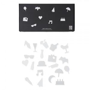 Bilde av Design Letters Party icons,