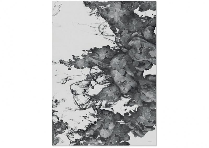 ChiCura PhotoArt Floating Flowers 50x70