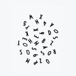 Bilde av Design Letters, Svarte