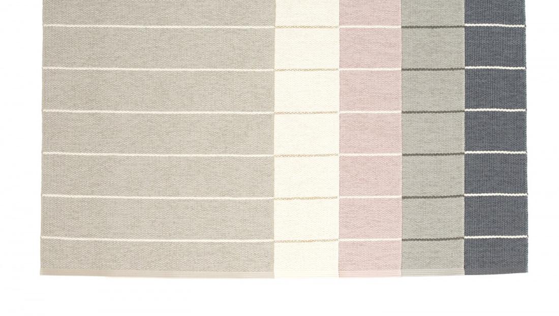 Pappelina Carl Gulvløper 70x180 Warm Grey/Fossil Grey