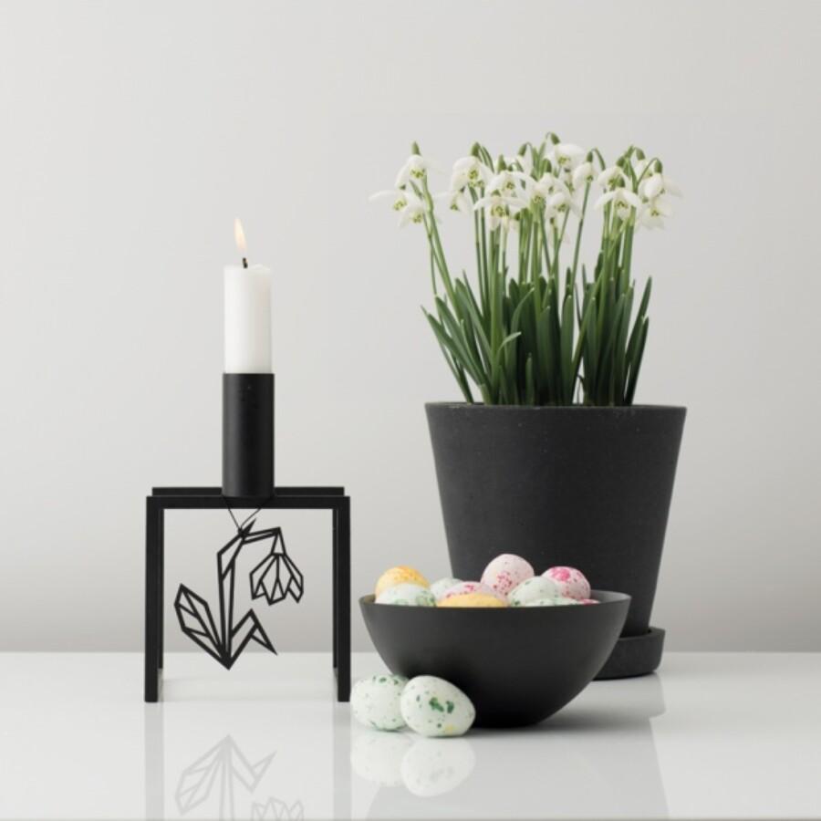 Felius Design oppheng Snøklokke 2stk, black