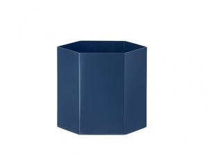 Bilde av Hexagon Pot L Blue, Ferm