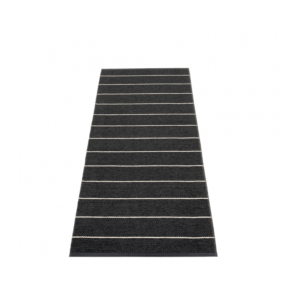 Pappelina Carl Gulvløper 70x180 Black/Charcoal