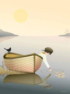 Bilde av VisseVasse Boy In A Boat
