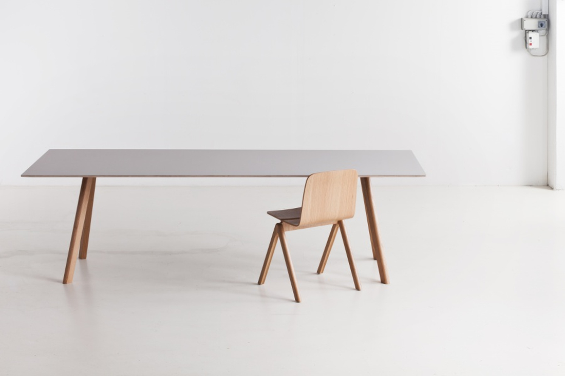 HAY Copenhague Table CPH30, Soap Oak Black Spisebord 250cm