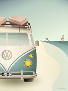Bilde av Vissevasse VW Camper 30x40