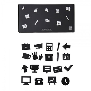 Bilde av Design Letters Office icons,