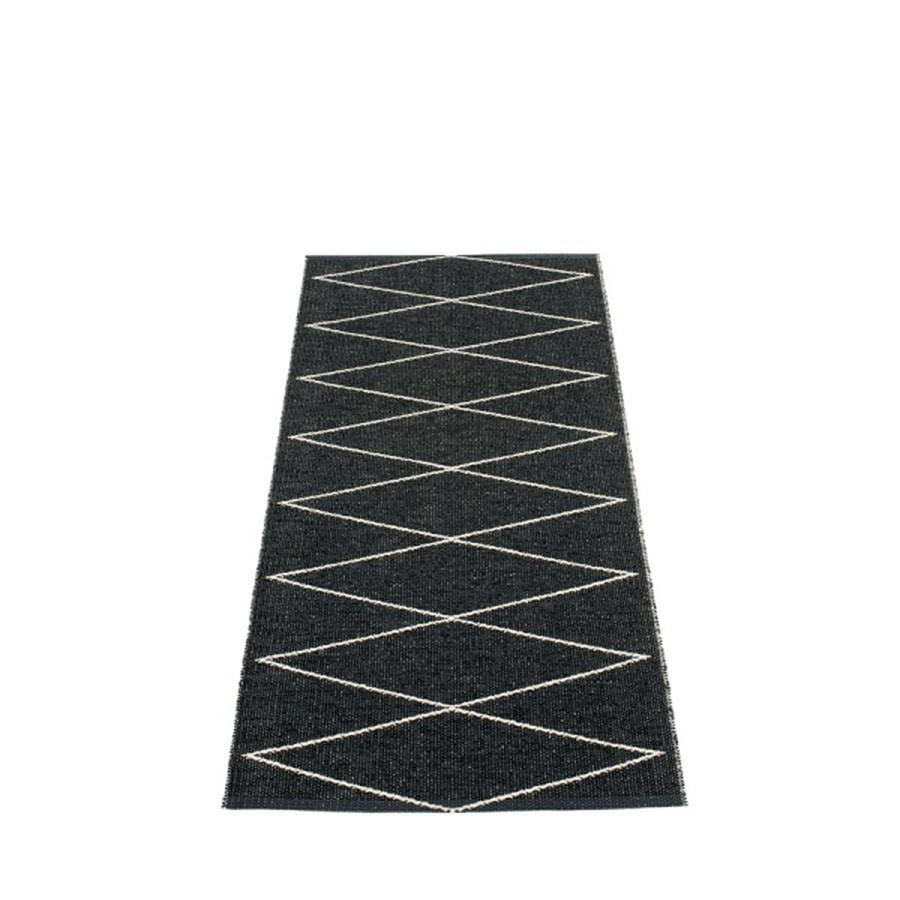 Pappelina Max Gulvløper 70x160 Black/Vanilla