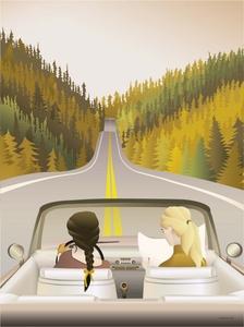 Bilde av VisseVasse The road