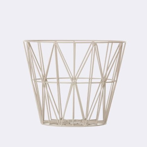 Bilde av Wire Basket M Light Grey,