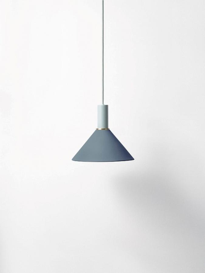 Ferm Living Cone Shade- Dark Blue