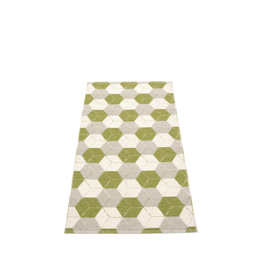 Pappelina Trip Gulvløper 70x150 Olive Linen/Vanilla