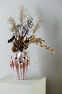 Bilde av Eden Outcast Lava vase Rose