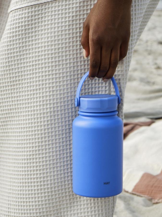 Hay Mono Thermal Bottle 0,6L Sky Blue
