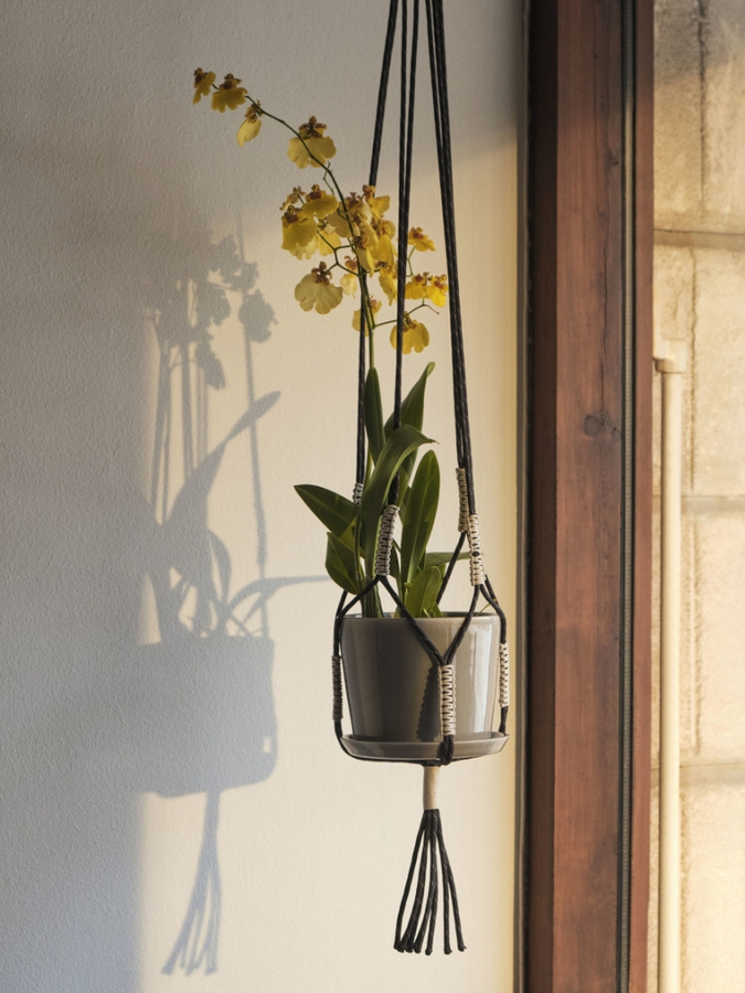 Hay Phanta Plant Hanger, Black