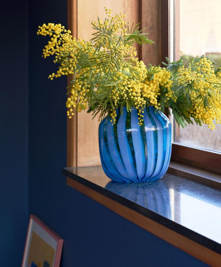 Hay Juice Vase, Light Blue Wide