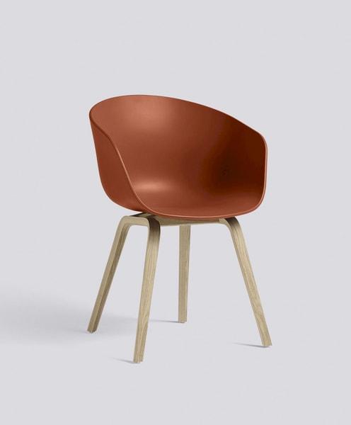 HAY Orange Mattlakkert AAC22, About a Chair 22 Stol, spisestol