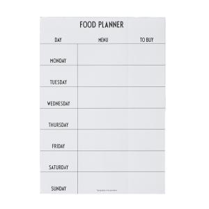 Bilde av Weekly Food Planner white,