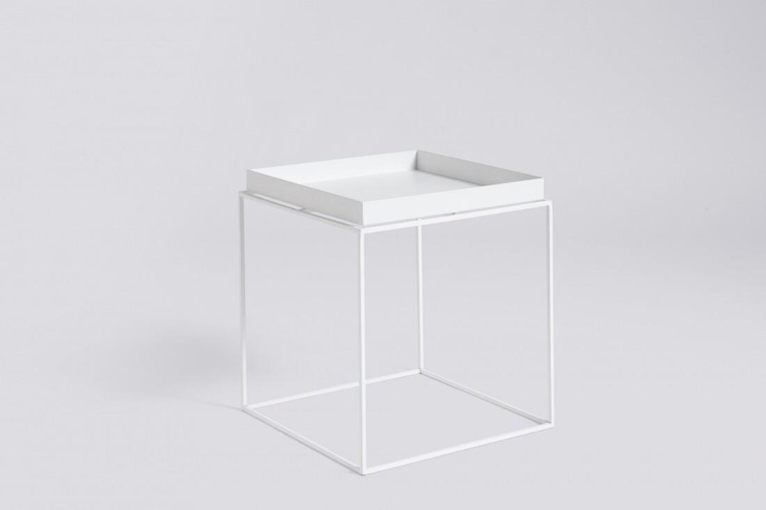 HAY TRAY Table 40x40 White