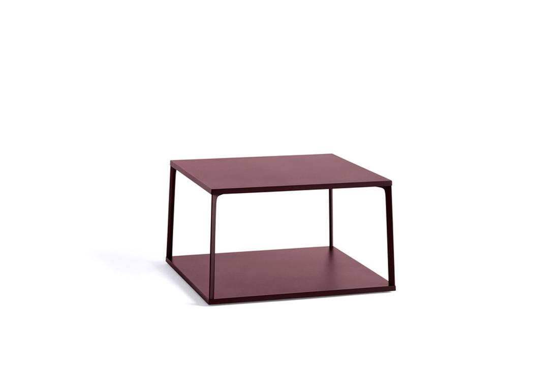 HAY Eiffel Coffee Table Square Dark Brick