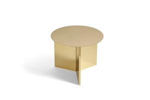Bilde av HAY Slit Table Round, Brass