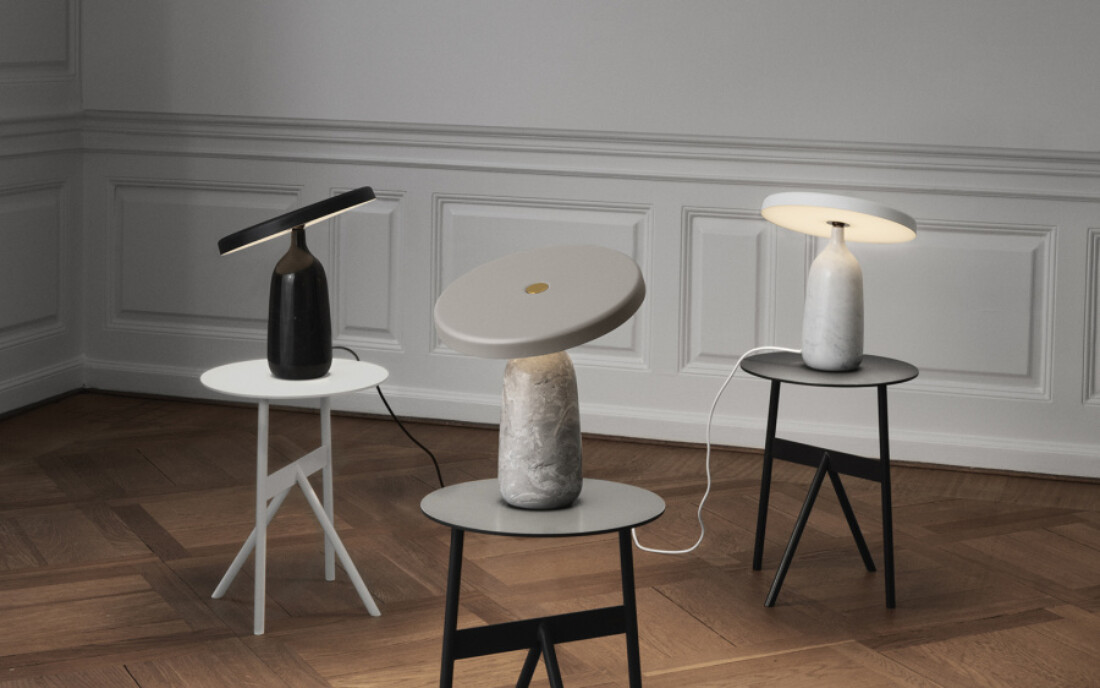 Billigkroken - Normann Cph Eddy Table Lamp, Grey