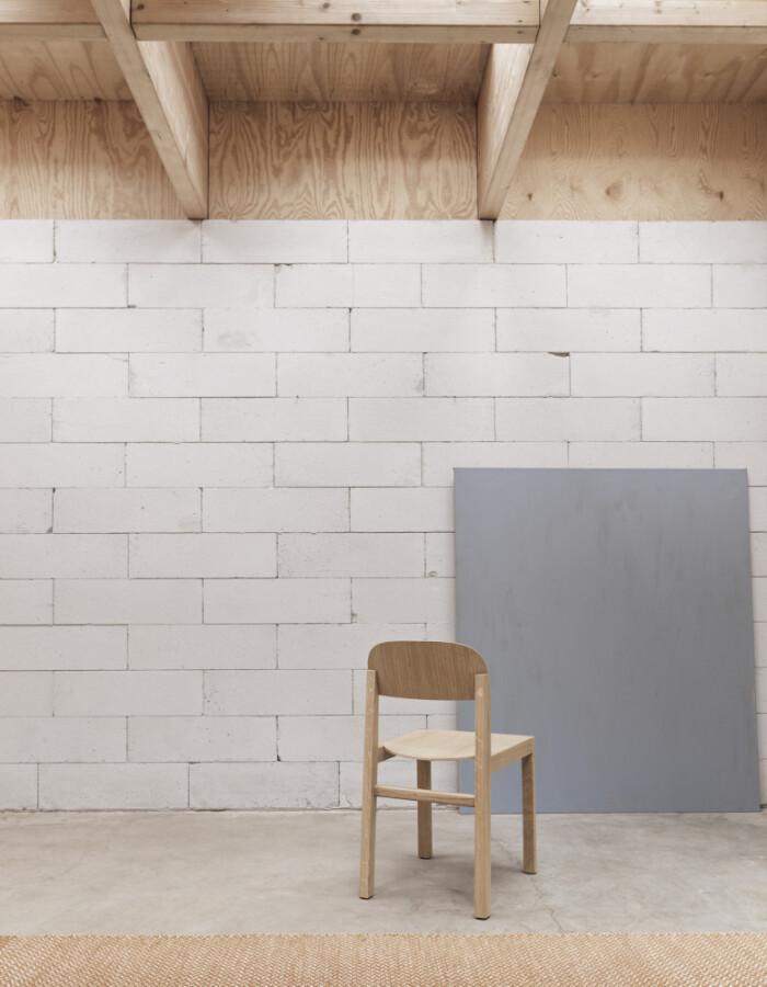 Muuto Workshop Oak Chair, Spisestol i eik