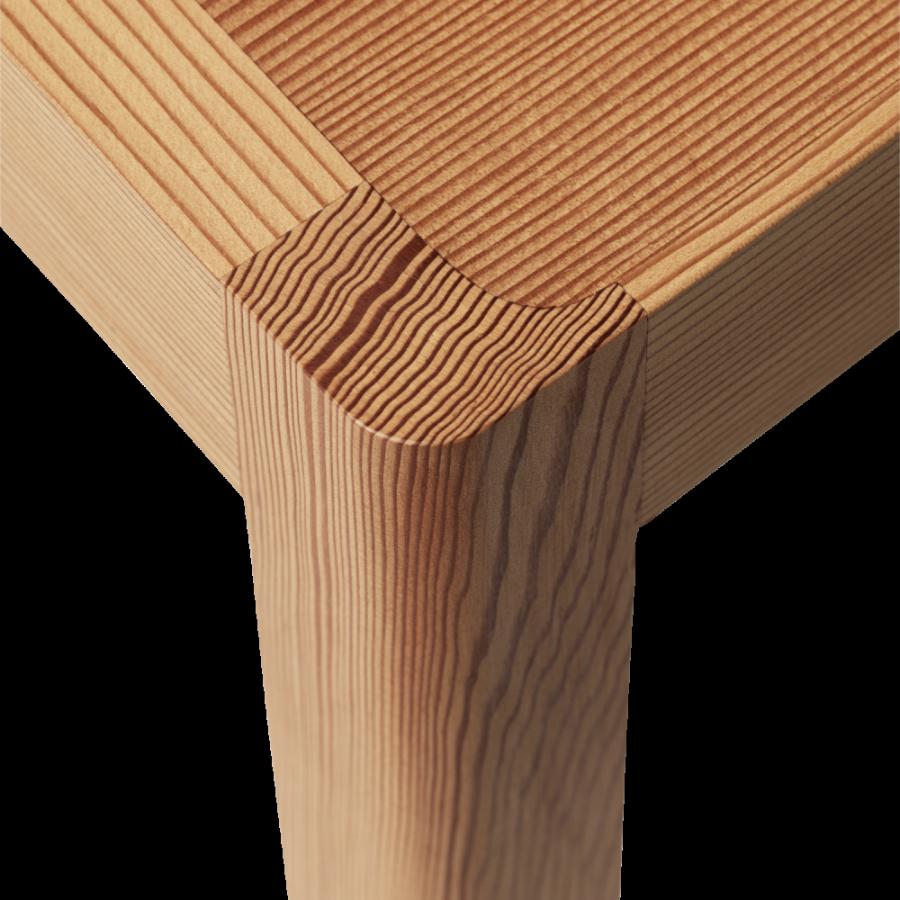 Muuto Workshop Oregon Pine Chair, Spisestol i furu