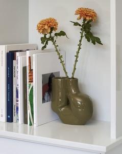 Bilde av Hay WS Chubby Vase, Olive