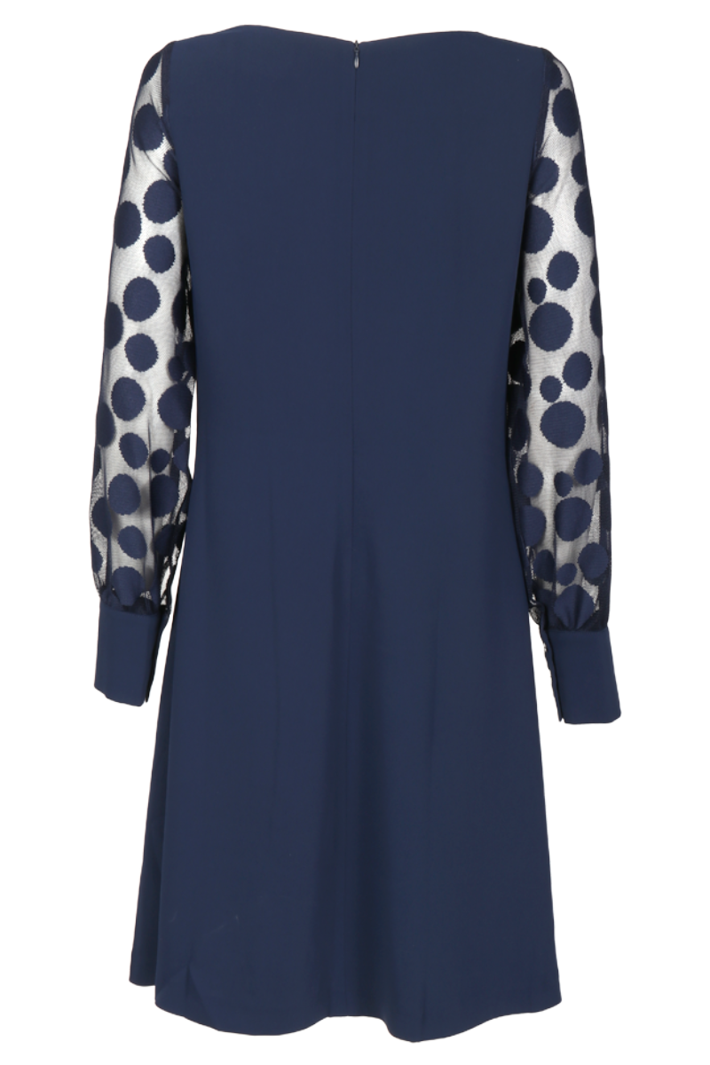 Stina blå kjole