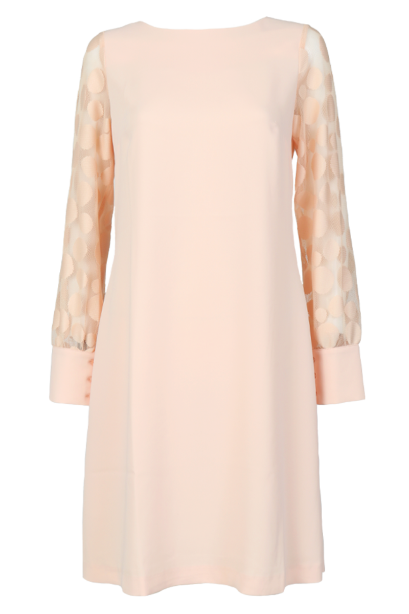 Stina nude rosa kjole
