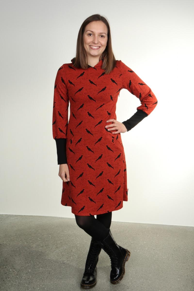 Brynhild Oransje kjole