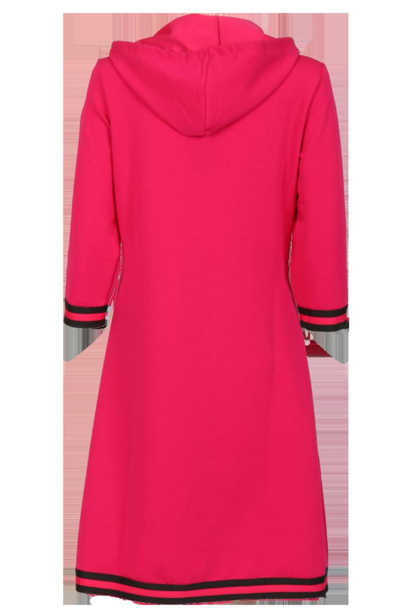 Dagny Sporty rosa kjole