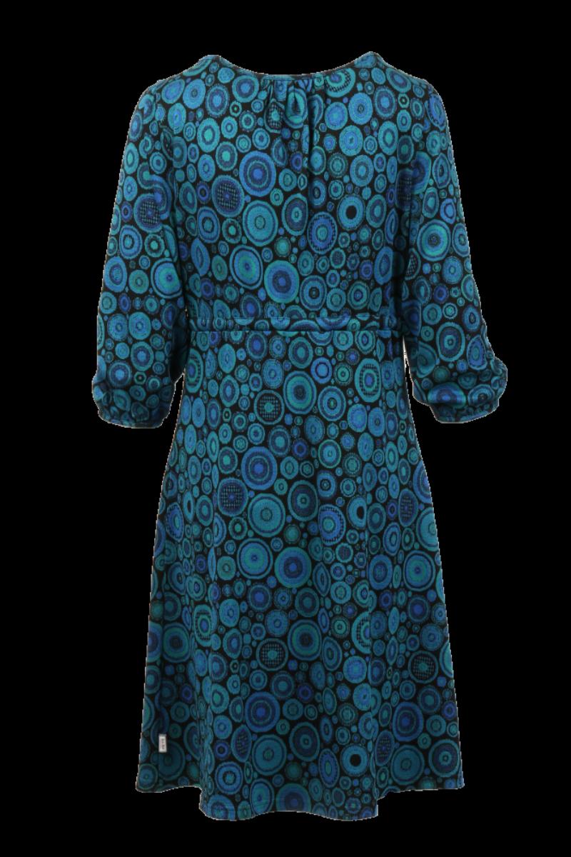 Frida blå kjole