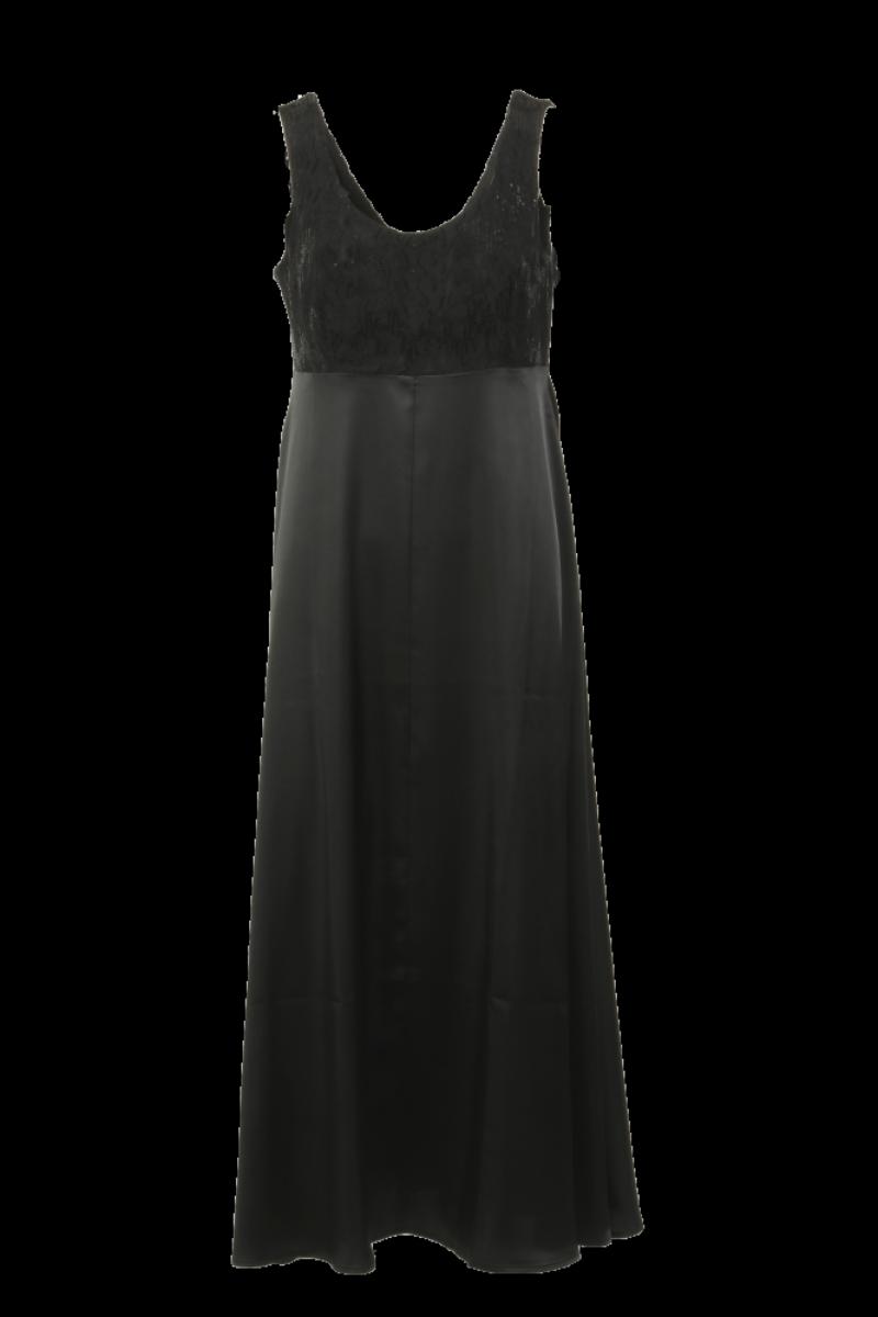 Sophia sort festkjole