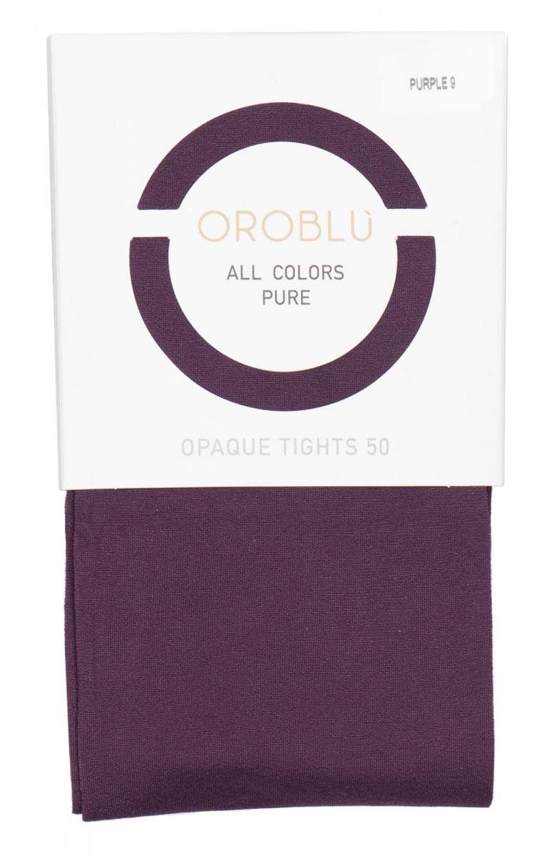 Purple 9 tights 50 den from Oroblu