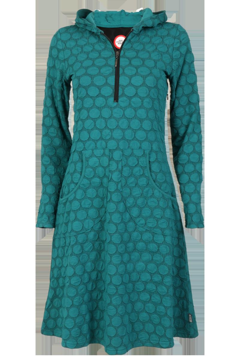 Lotta sjøgrøn kjole