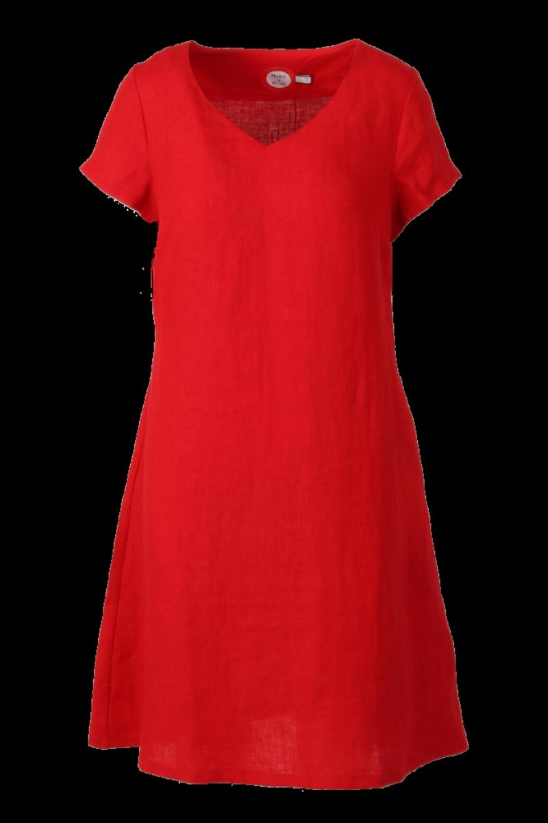 Hannalena rød linkjole