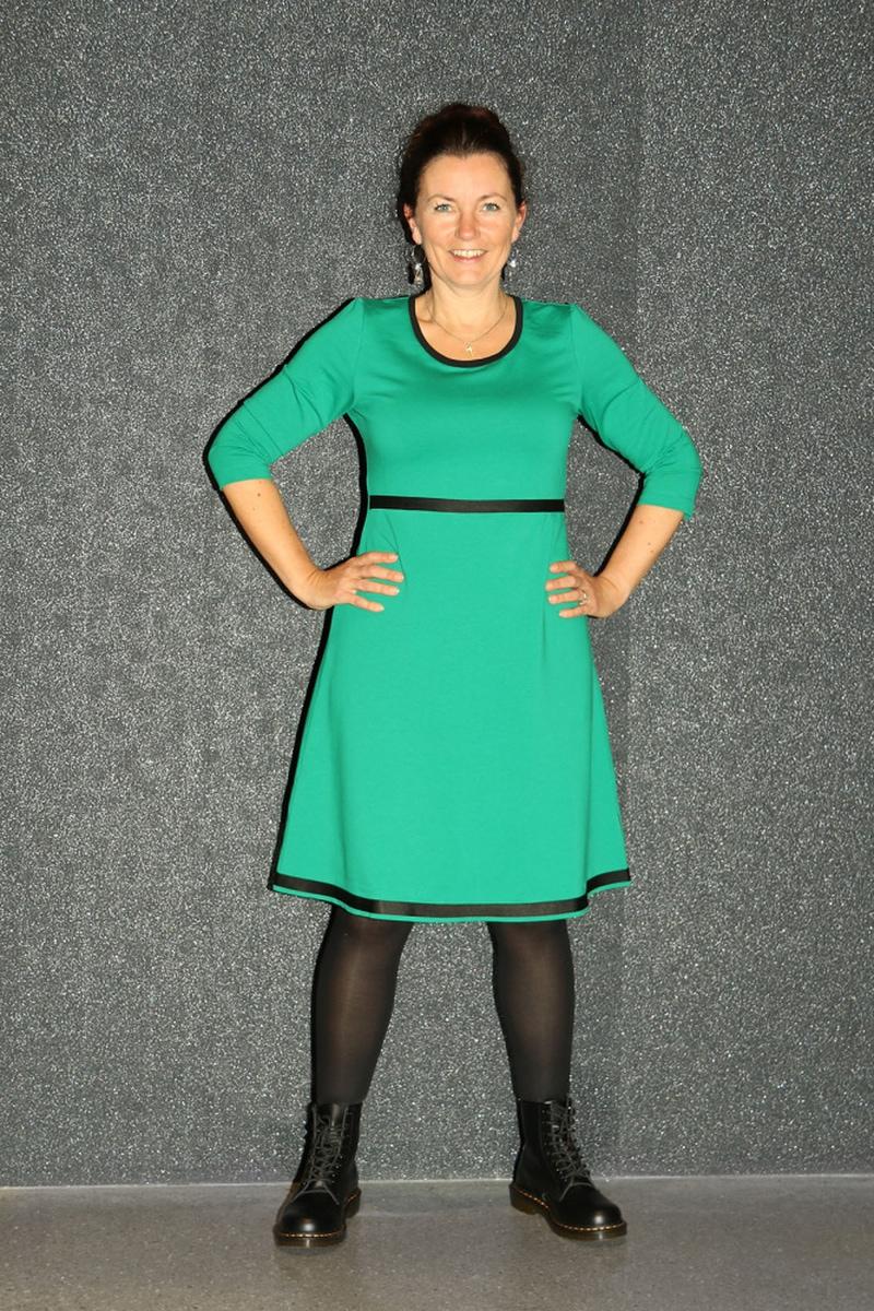 Magda grønn kjole