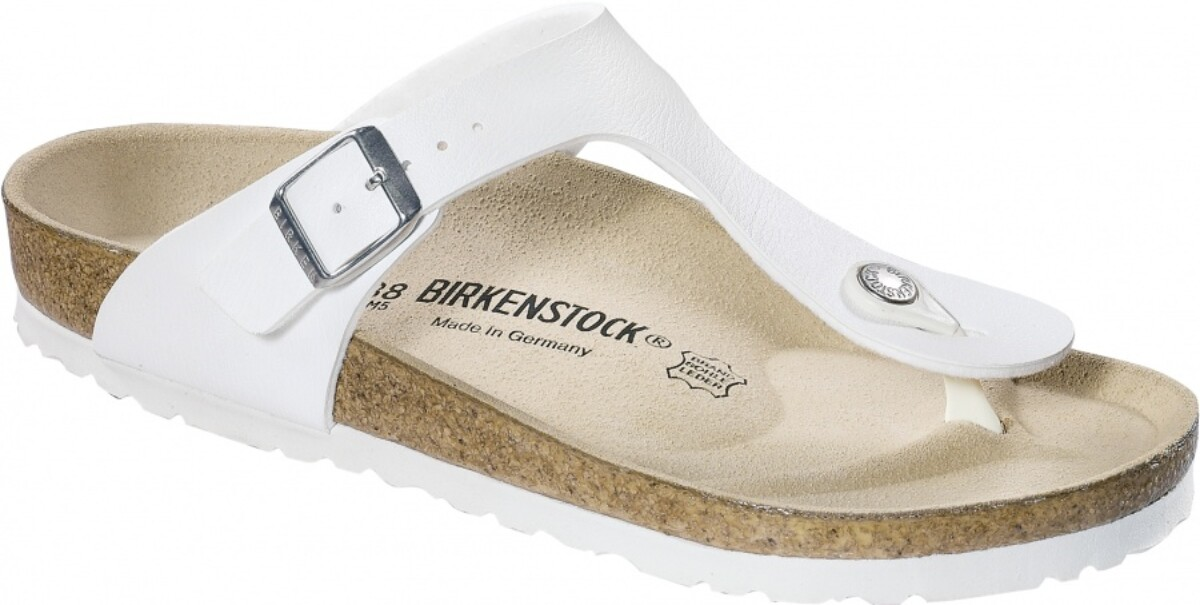 Birkenstock Gizeh hvit BF sandal normal