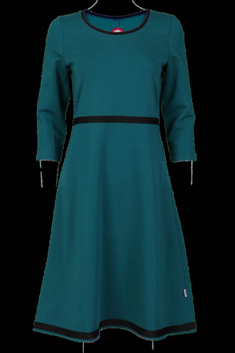 Magda sjøgrønn kjole