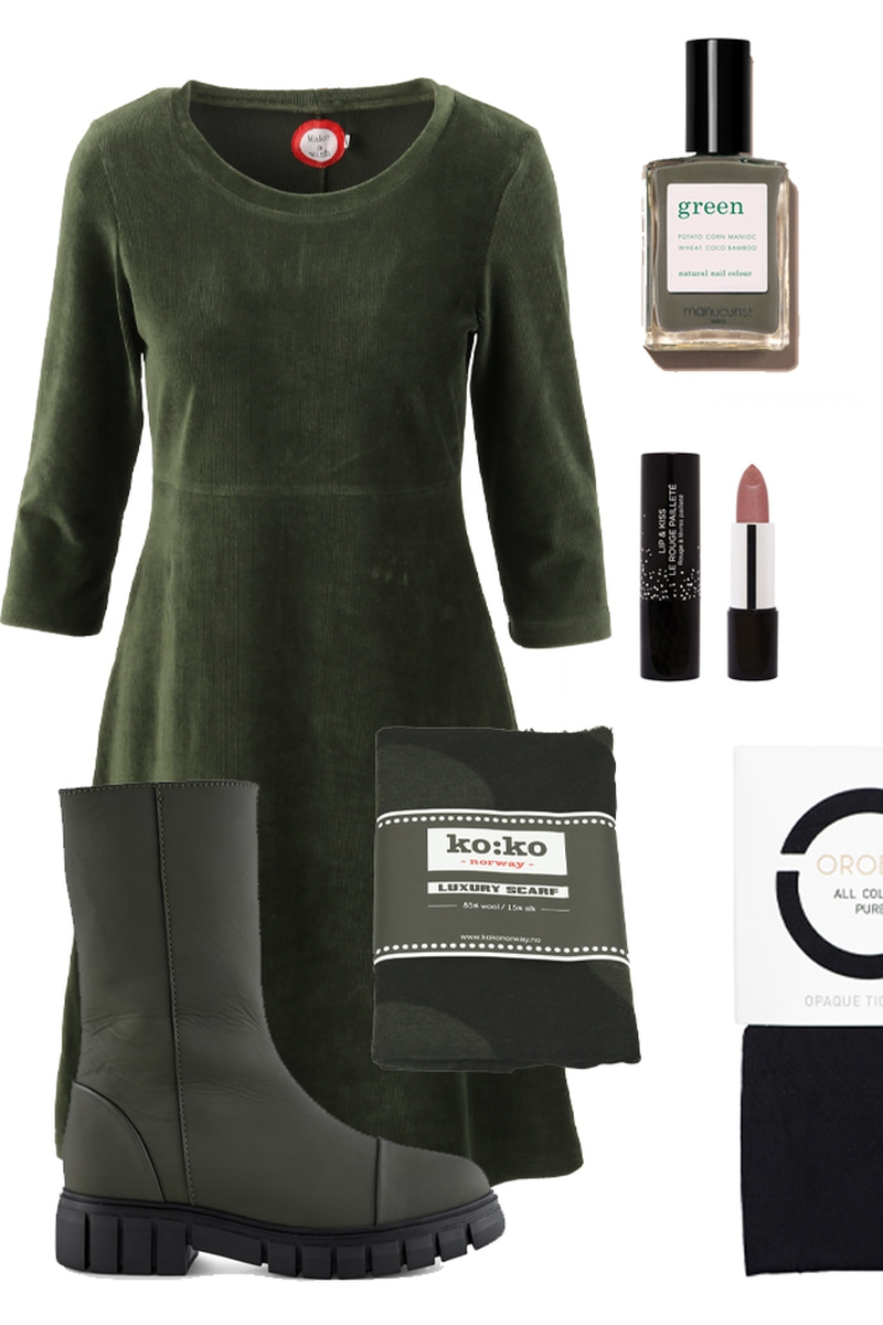 OUTFIT Elli  green