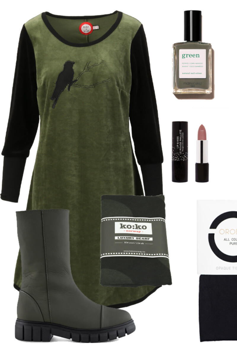 OUTFIT Sonja green