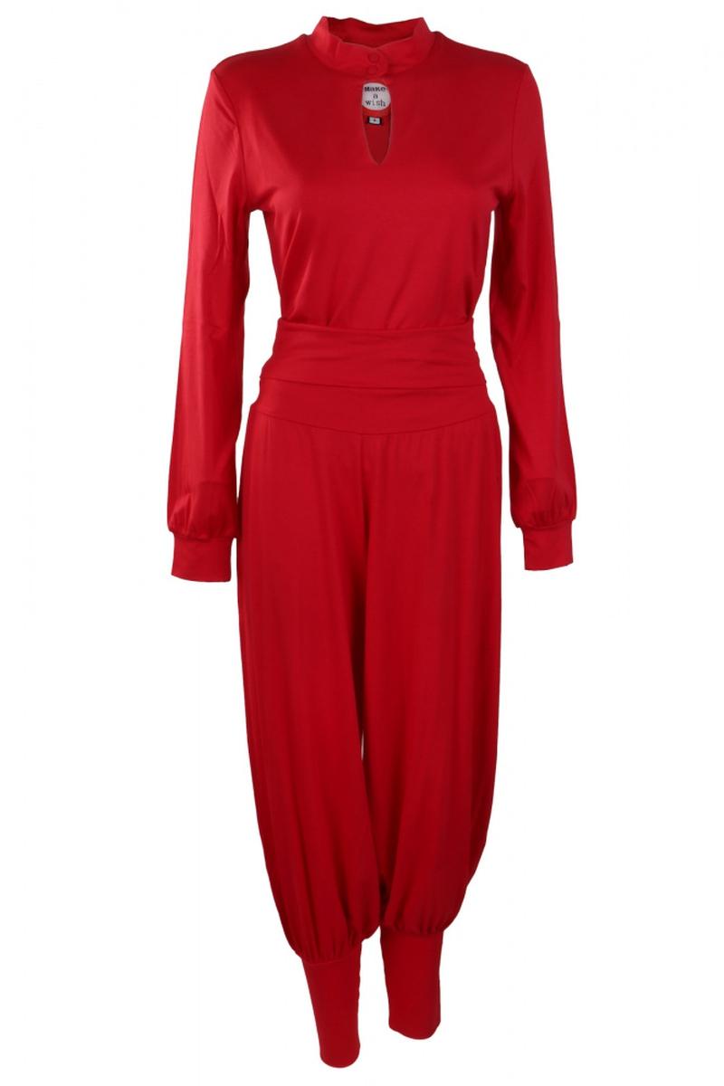 Rød baggy bukser Molly fra ko:ko norway