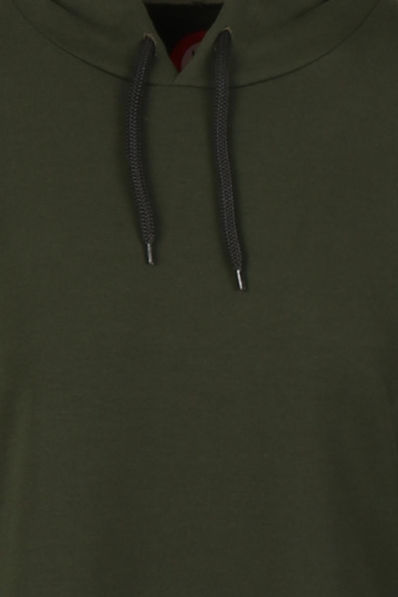 Dagny Sporty mililærgrøn kjole